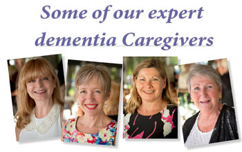 Care workers elder dementia home care