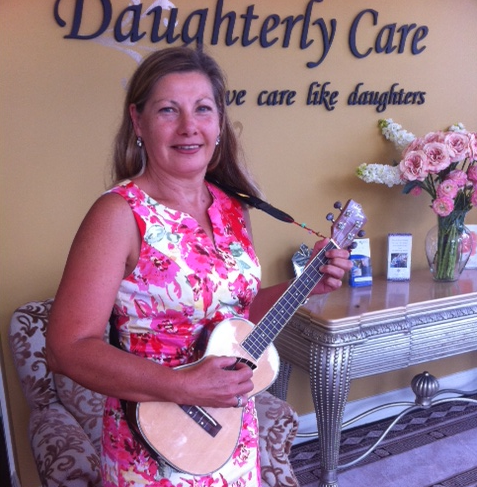 elder home carer music therapy dementia
