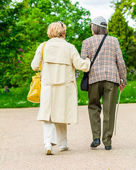 elder carer assist walk personal home care