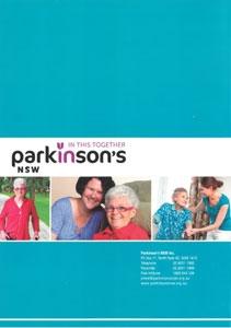 Parkinson's NSW booklet disease elder elderly seniors inhome in-home livein livein care
