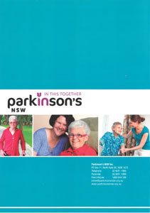 Parkinson's NSW booklet disease elder elderly seniors inhome in-home livein livein care