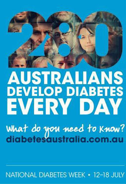 Diabetes week Australia Private home care