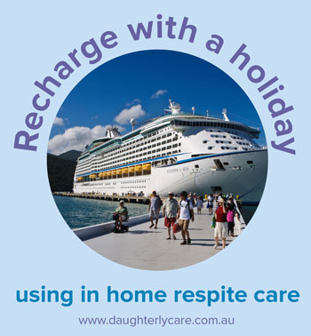 respite travel holiday personalised elder care