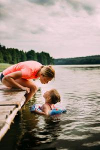 elder senior holiday great-grandchildren respite care