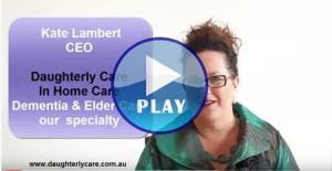 dementia elder care home care package consumer directed care cdc elderly senior seniors alzheimers parkinsons respite