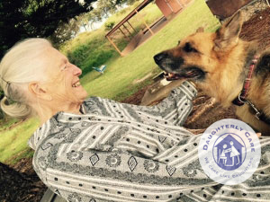 elder live-in carer 24hr 24 hour pet-cat dog livein private in home care level 4 package