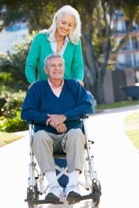 elder senior elderly seniors fall falls prevention risk frail hospital rehabilitation walker wheelchair respite aged care worker carer