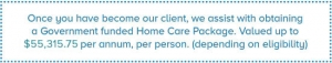 in-home care package live-in carer private nursing mosman cancer livein private 24hr-24 hour inhome north shore