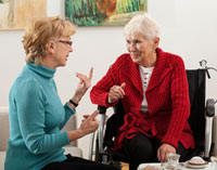 private nursing nurse elder respite home care