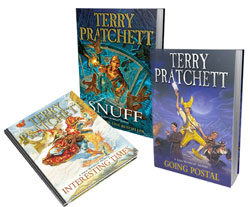 Terry Pratchett books dementia Alzheimer's elder home care