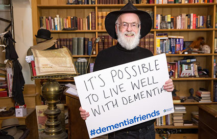 Terry Pratchett elder dementia Alzheimer's lewy body vascular