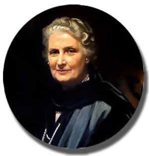 Doctor Maria Montessori dementia elderly home care