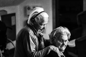 dementia elder friends happy home care