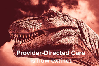 Provider-directed care now extinct