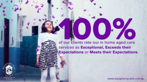 100 percent client satisfaction met expectation home care