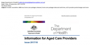 info aged care providers