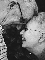 loving elder couple live-in care north shore