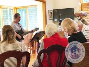 dementia singing music alzheimers anxiety parkinsons respite nurse privatecare 24hr 24 hour